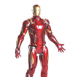 Wanyue Plan Large Iron Man Illuminated Joints Moving Doll Hand-made Model Box Gift 36cm
