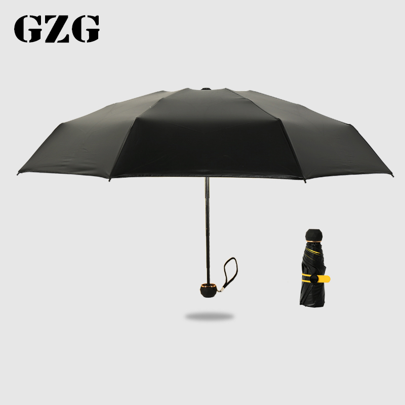 五折超轻迷你女小黑胶防晒防紫外线太阳伞雨伞折叠遮阳伞晴雨两用