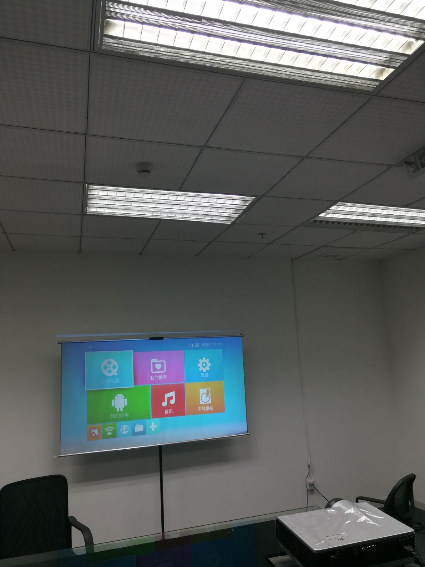 彩语P800无屏电视 投影仪WIFI.安卓led家用商务投影机.抗光幕
