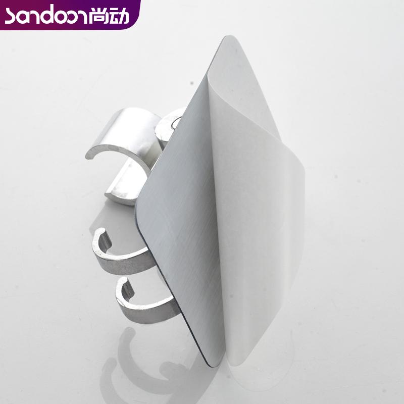 免打孔花灑支架浴室可調節噴頭固定底座蓮蓬頭掛鉤軟管淋浴器配件