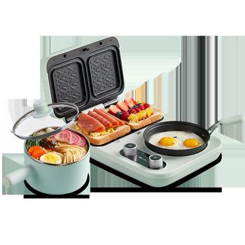 小熊早餐机家用小型多功能三明治机