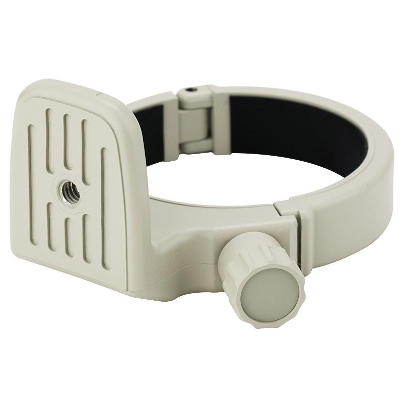JJC 小小白脚架环 小小白脚架环 70-200 F4L脚架环EF 70-200mm f/4L IS II USM 二代防抖镜头环支架