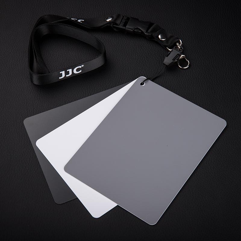 JJC 18度灰卡摄影用18%灰卡手动白平衡卡测光卡中号灰板防水便携