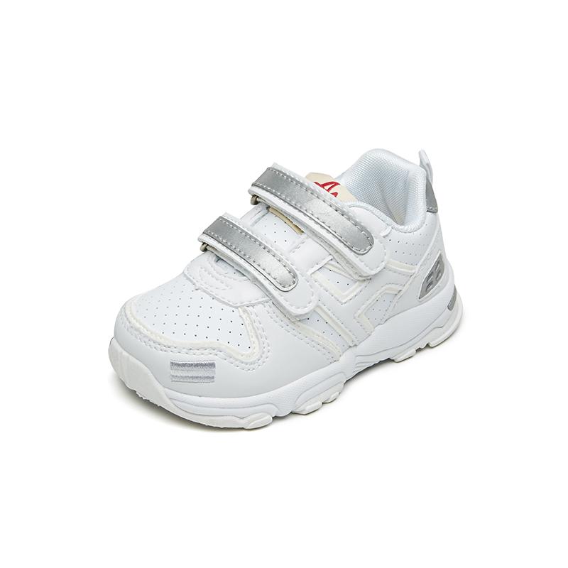 宝宝鞋子春秋女童机能鞋儿童小白鞋男童透气室内软底学步鞋幼儿园