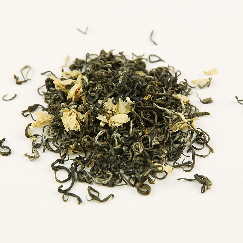 个月四川省 1 中国大陆 500G 茶叶飘雪茉莉花茶浓香花草茶茶叶散装