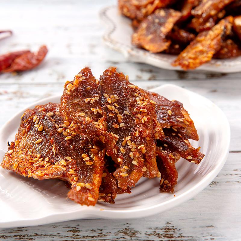 袋包邮特产休闲小吃鱼零食开袋即食熟食 2 500g 泰国风味香辣黄花鱼