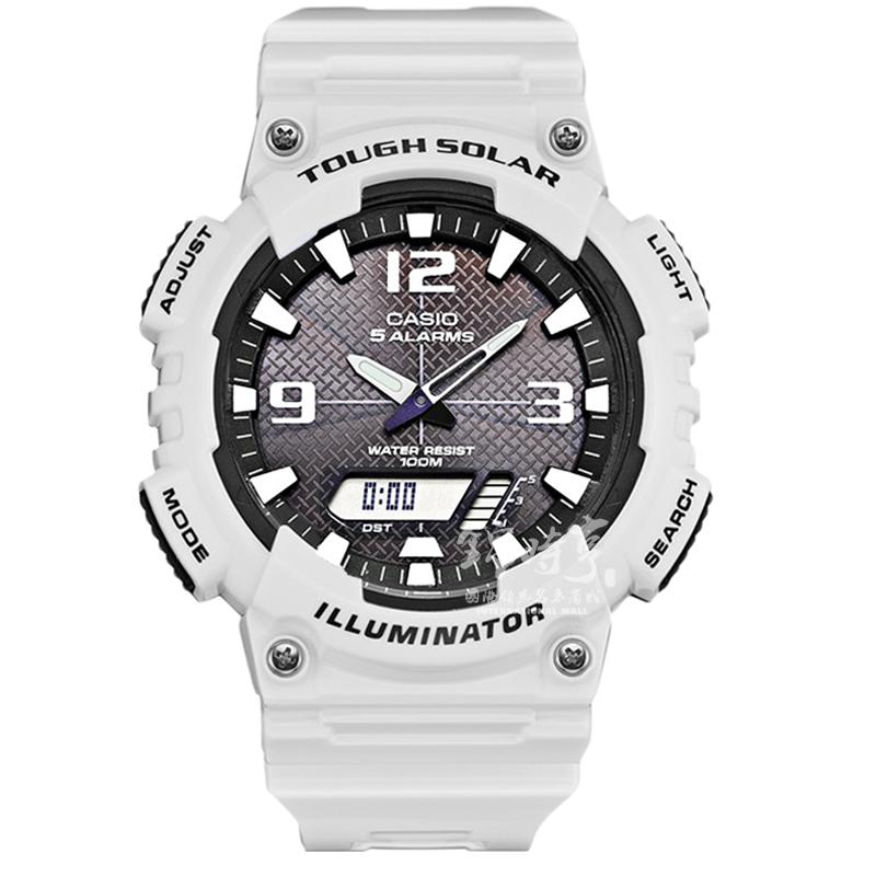 【香港直郵】卡西歐太陽能手錶運動防水男表AQ-S810WC-7A