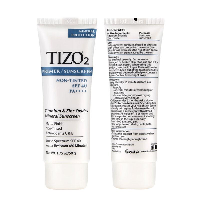 美国 防晒霜女面部敏感肌孕妇隔离紫外线男脸部官方旗舰正品  tizo2