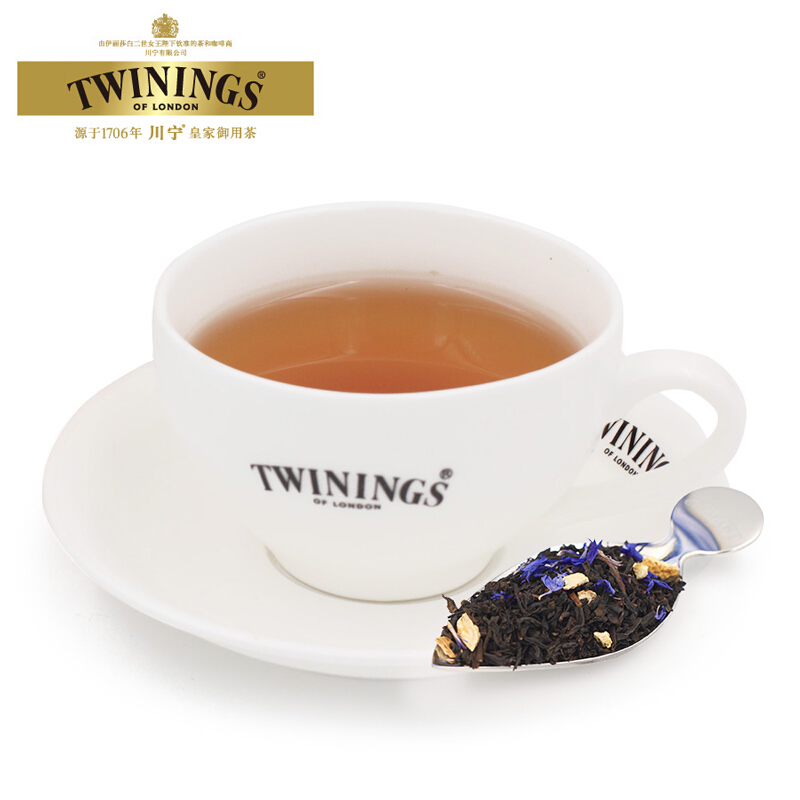 散装罐装茶叶红茶 2 100g 川宁仕女伯爵红茶 TWININGS 进口英国
