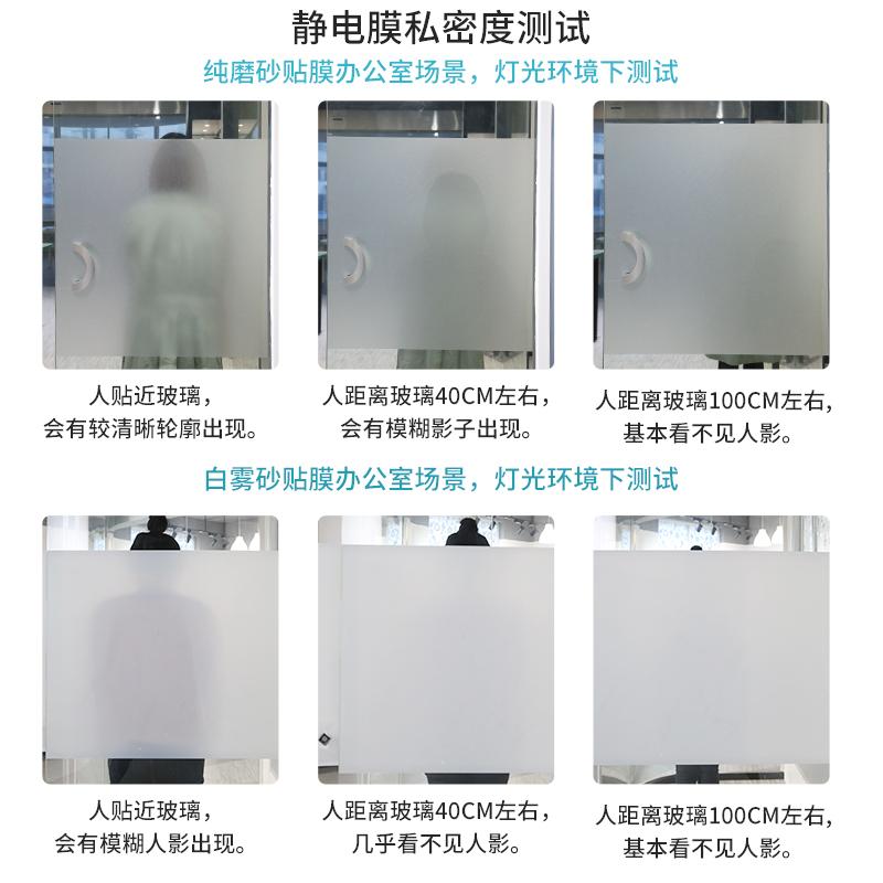 卫生间窗户磨砂贴纸浴室玻璃贴膜窗纸防隐私防窥防走光透光不透明主图
