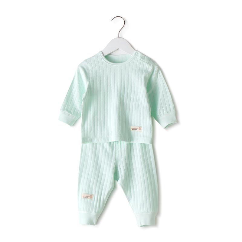 春秋装婴儿秋衣裤 0 女 2 岁 3 1 宝宝内衣套装纯棉儿童衣服冬季睡衣男