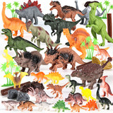 Children's toy dinosaur Tyrannosaurus rex Triceratops sickle dragon suit simulation model animals boy child in the world
