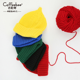 帽子女秋韩版秋冬季男女士时尚尖尖帽可爱保暖奶嘴针织毛线帽子潮
