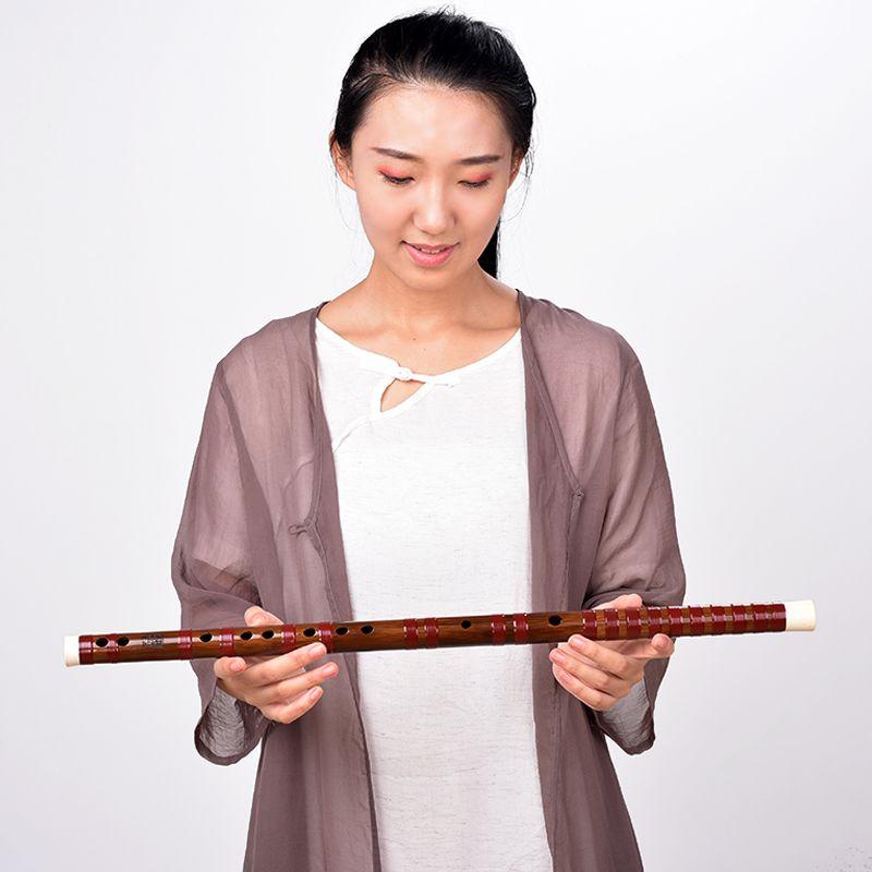 醇厚素笛资深典藏 野生老料笛子专业演出横笛 湛文兵藏品苦竹笛