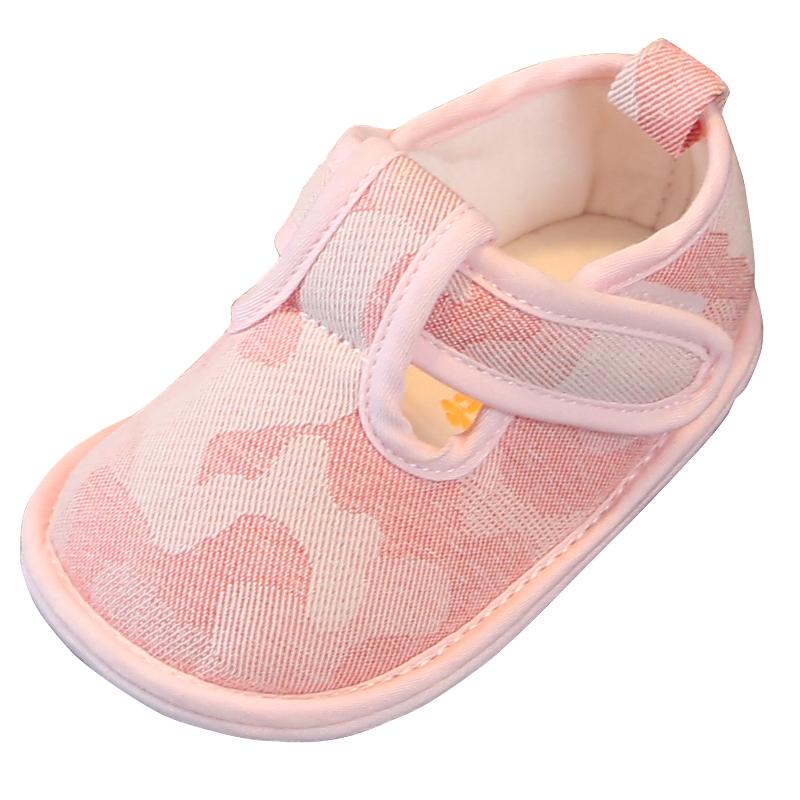 学步鞋秋 婴儿软底十个月五宝宝学步鞋春秋婴儿鞋子0-1岁布鞋男女