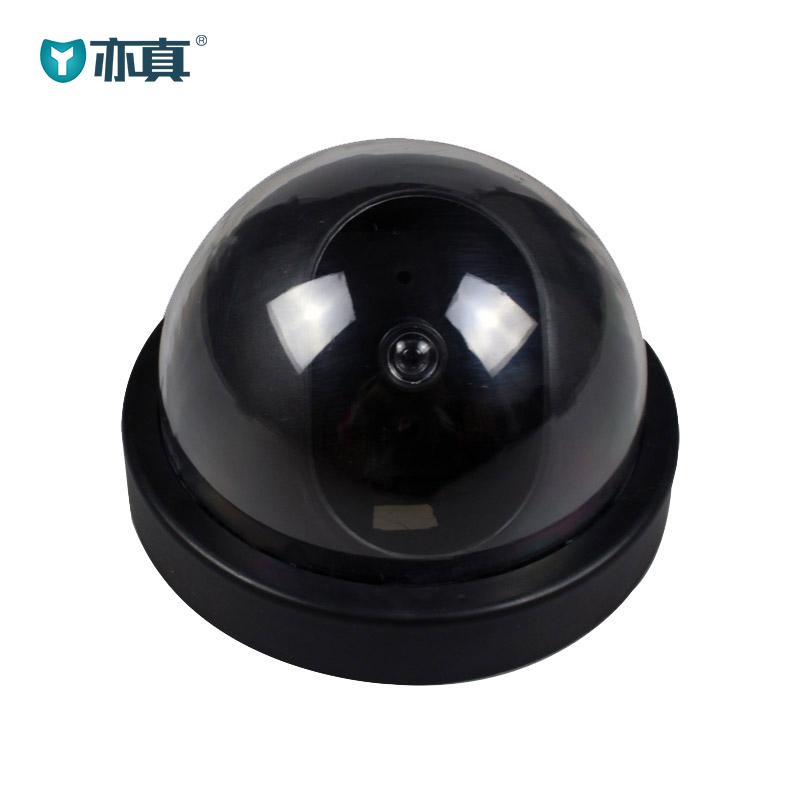 新款半球形仿真摄像头仿真监控假监控假摄像头防盗摄像头大号带灯