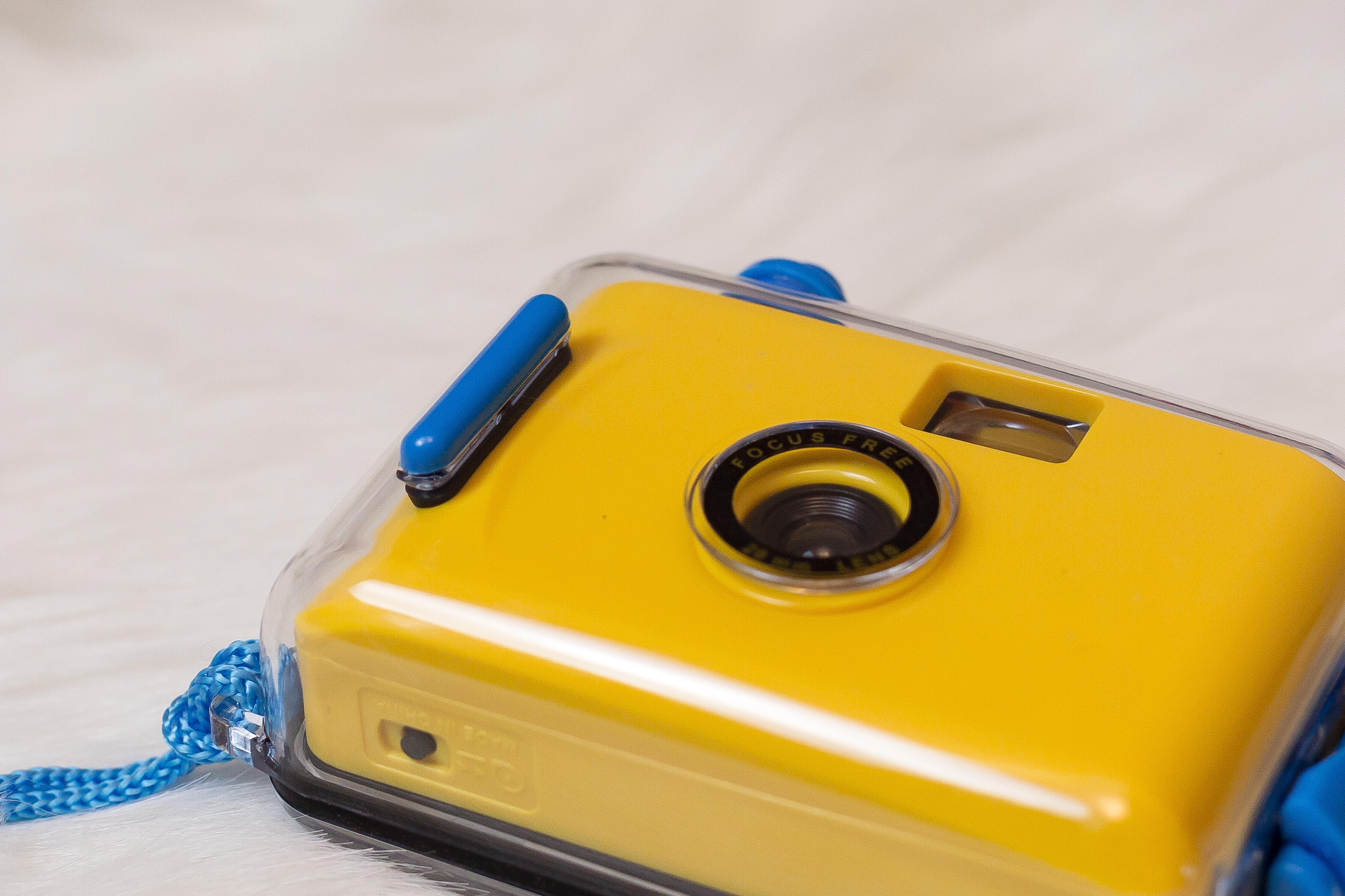 一次姓相機創意禮物 ins 復古傻瓜膠片相機內置膠卷防水 研究所 SNAP