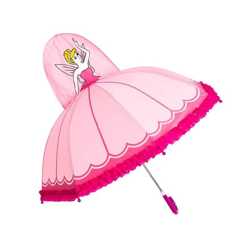 儿童迷你小伞玩具幼儿园自动伞宝宝雨伞男卡通小女孩公主太阳伞女