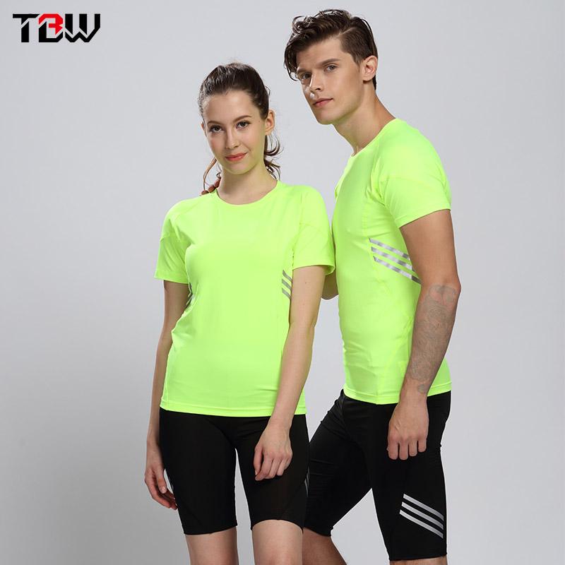 弹力田径服紧身套装男 运动跑步健身紧身服情侣款田径比赛训练服
