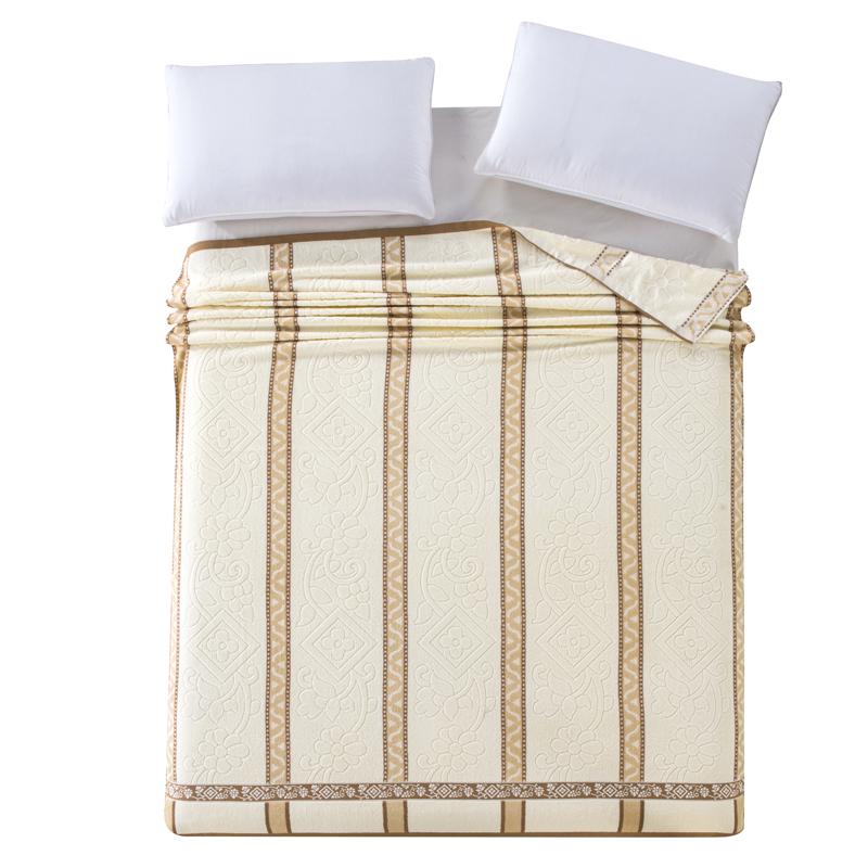 毛巾被老式怀旧纯棉双人单人儿童薄款夏凉宿舍毯子毛毯全棉毛巾毯
