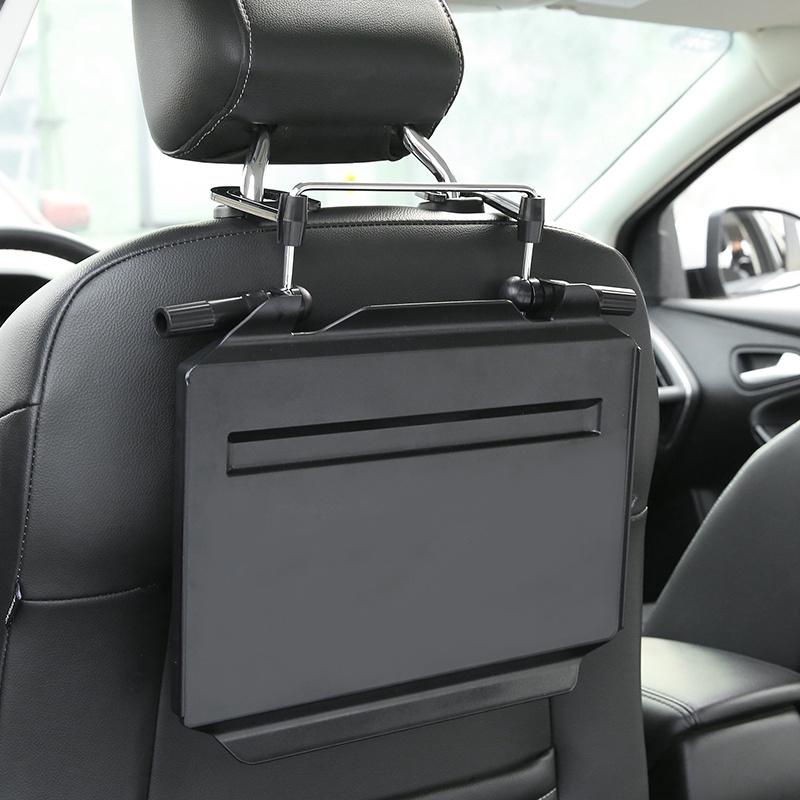 汽车载小桌子车用后排座椅可折叠餐桌板多功能笔记本电脑支架iPad