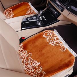 尼罗河 纯羊毛汽车坐垫短毛绒地毯垫 冬季坐垫小三件车垫座垫套
