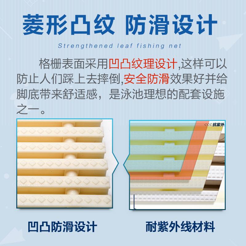泳池格栅 地沟格栅盖板双接口abs泳池排水格栅排水篦子 水槽盖板