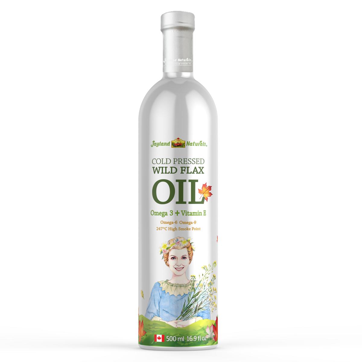 进口亚麻籽油加拿大农夫世嘉冷榨一级婴儿宝宝孕妇月子油500ml