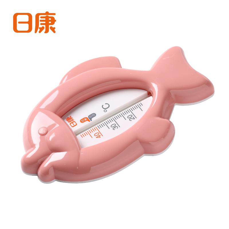 日康小鱼水温计 婴儿测温计 温度计 RK-3642 宝宝澡温计 室温计