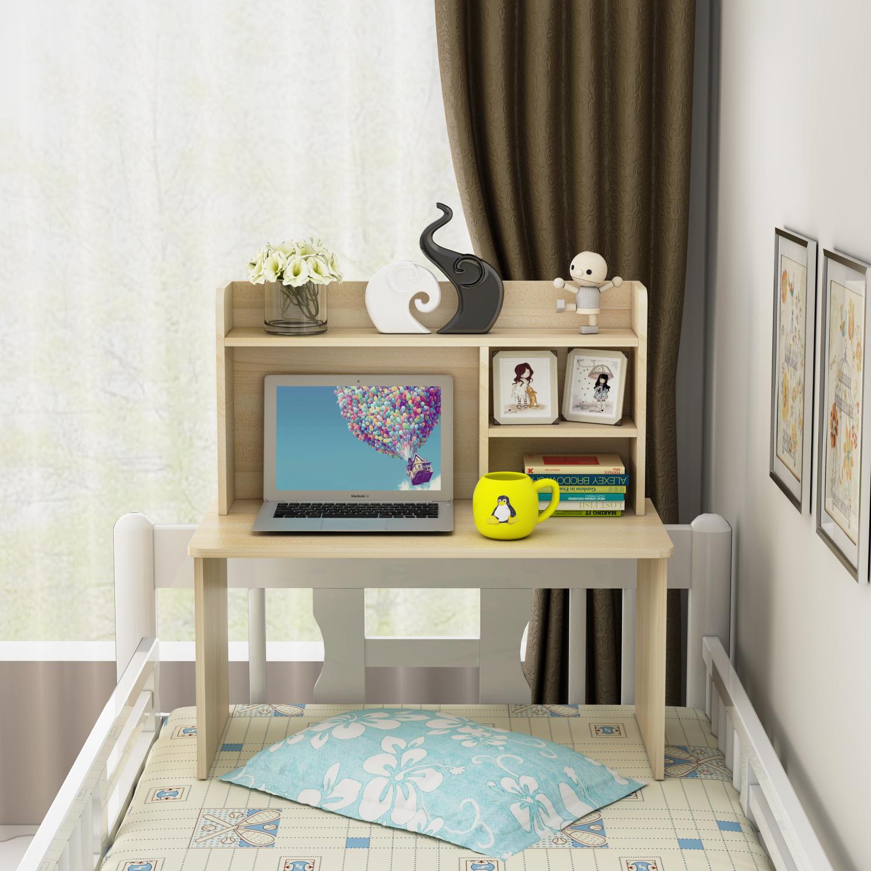 床上书桌大学生宿舍寝室书柜床桌一体懒人笔记本电脑学习桌子简约