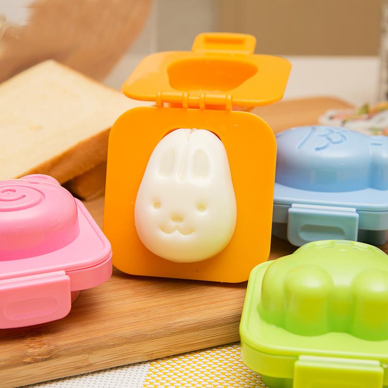 宝宝饭团模具摇饭团神器卡通三明治早餐摇摇乐做米饭煎鸡蛋器套装