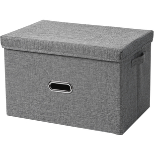 [double gun] Oxford textile folding clothes storage box