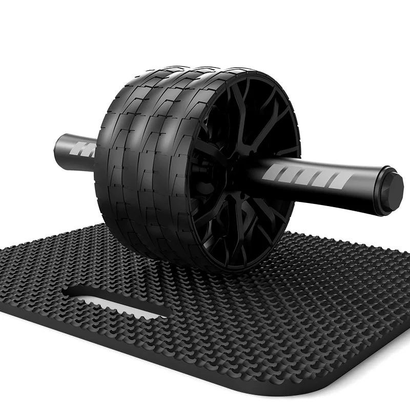 健腹輪男士鍛煉捲腹部推輪運動滑輪滾輪健身器材家用練腹肌肉訓練