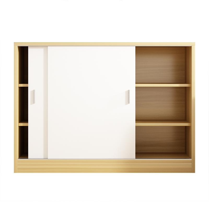 定制移门阳台柜储物柜飘窗柜地柜矮柜推拉门柜子储物柜收纳置物柜【图5】