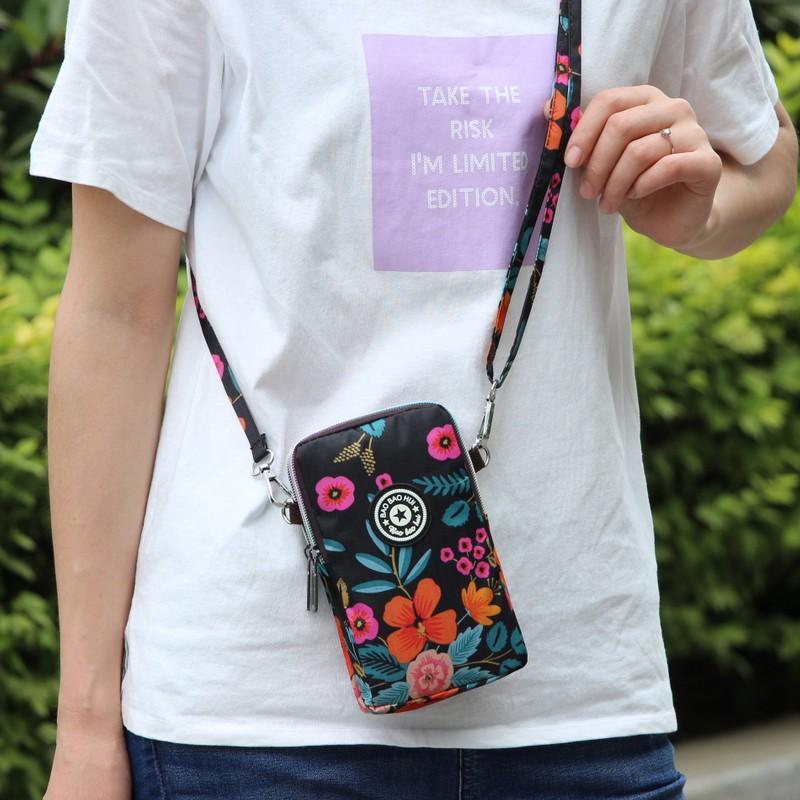 新款韩版百搭装手机包女斜挎包手腕零钱包夏季单肩竖款迷你小包包
