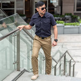 IX6 flanker tactics 7th district trousers Male City plainclothes detective Army fans outdoor leisure multi-pocket overalls