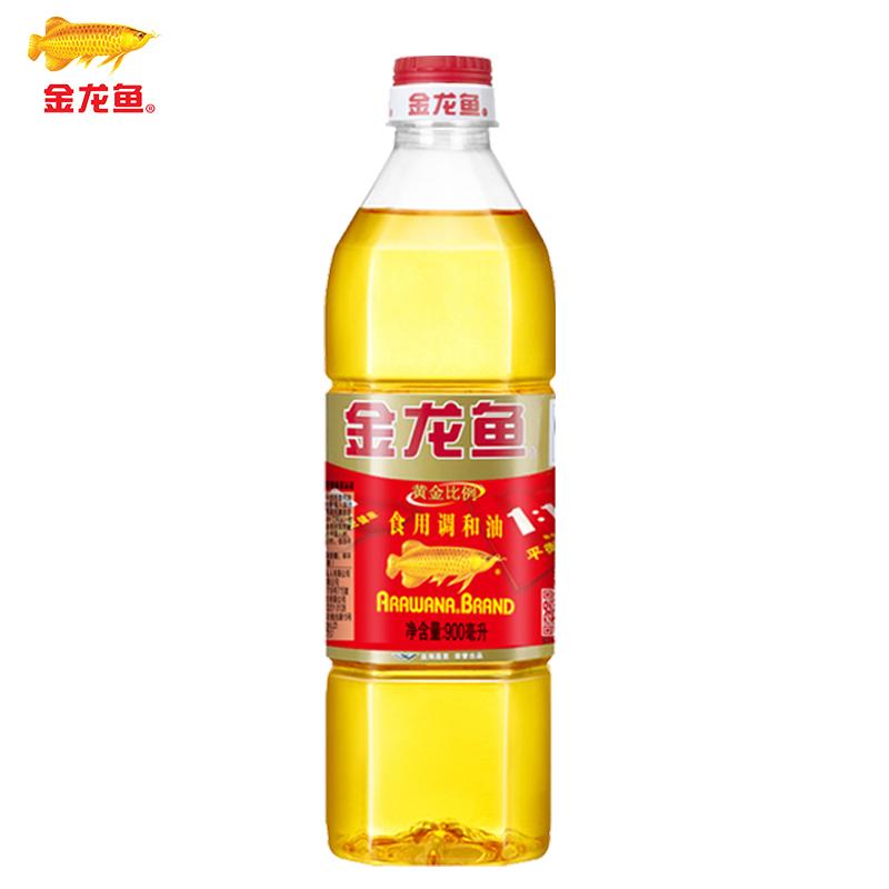 金龙鱼黄金比例食用调和油900ML*15瓶 整箱团购批发量大优惠