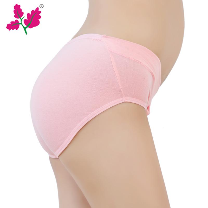 条孕妇内裤低腰纯棉裆怀孕期初期中期孕晚期大码女内衣三角短裤 6