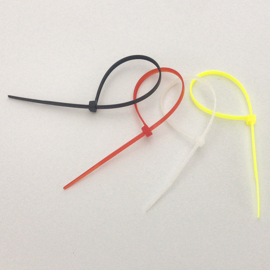 彩色自锁式尼龙扎带绑电线扎丝固定理线卡扣勒死狗塑料束线捆线带