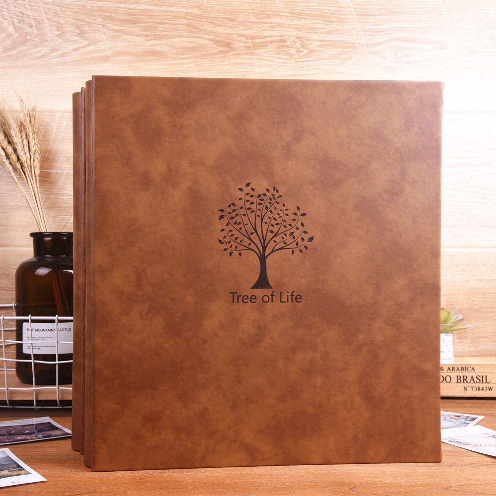 皮大容量5五寸6六寸混合版插页式家庭影集照片相册收纳册本集相簿