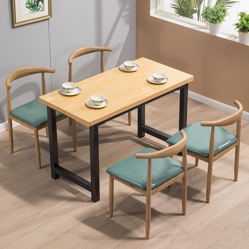 堂桌椅组合 餐饮桌椅