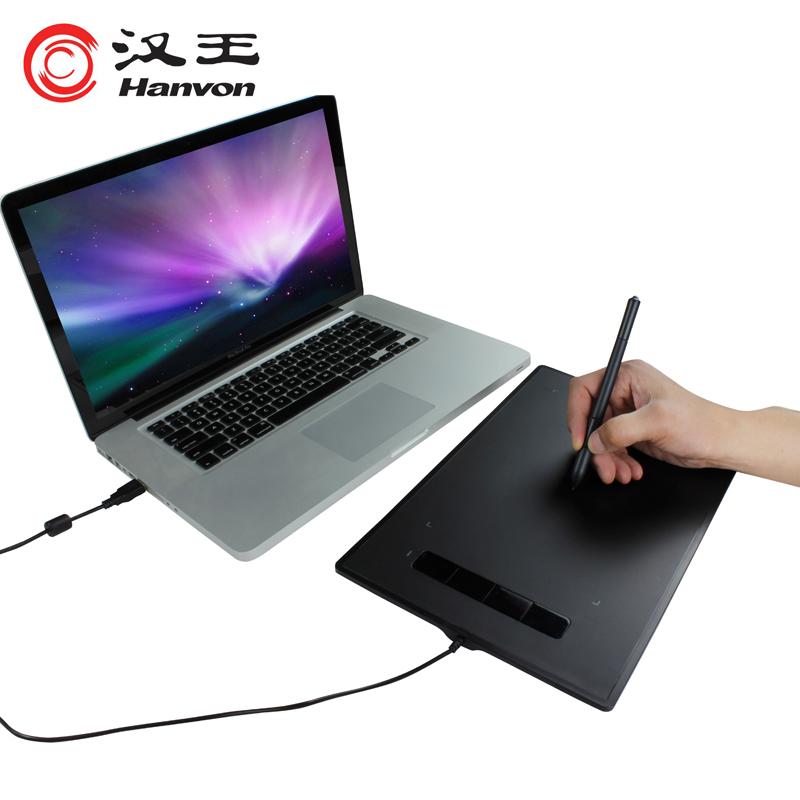 汉王数位板电脑绘画板手绘板手写板小黑