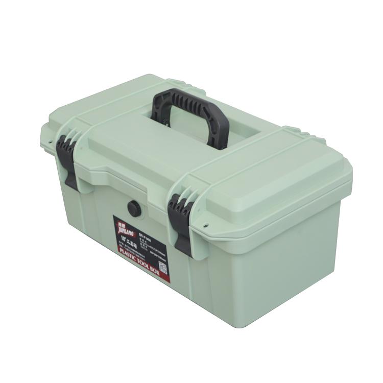 隽狼加厚工具箱手提式大号塑料五金工具箱家用维修工具收纳箱车载