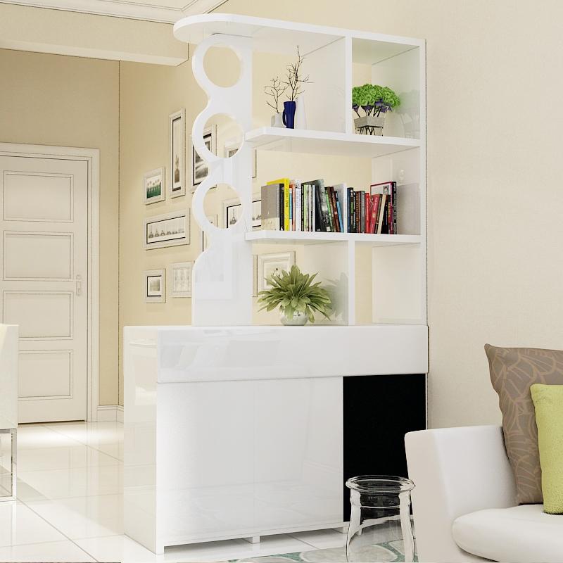 现代简约创意客厅镂空隔断多功能双面玄关柜间厅柜隔断柜屏风鞋柜