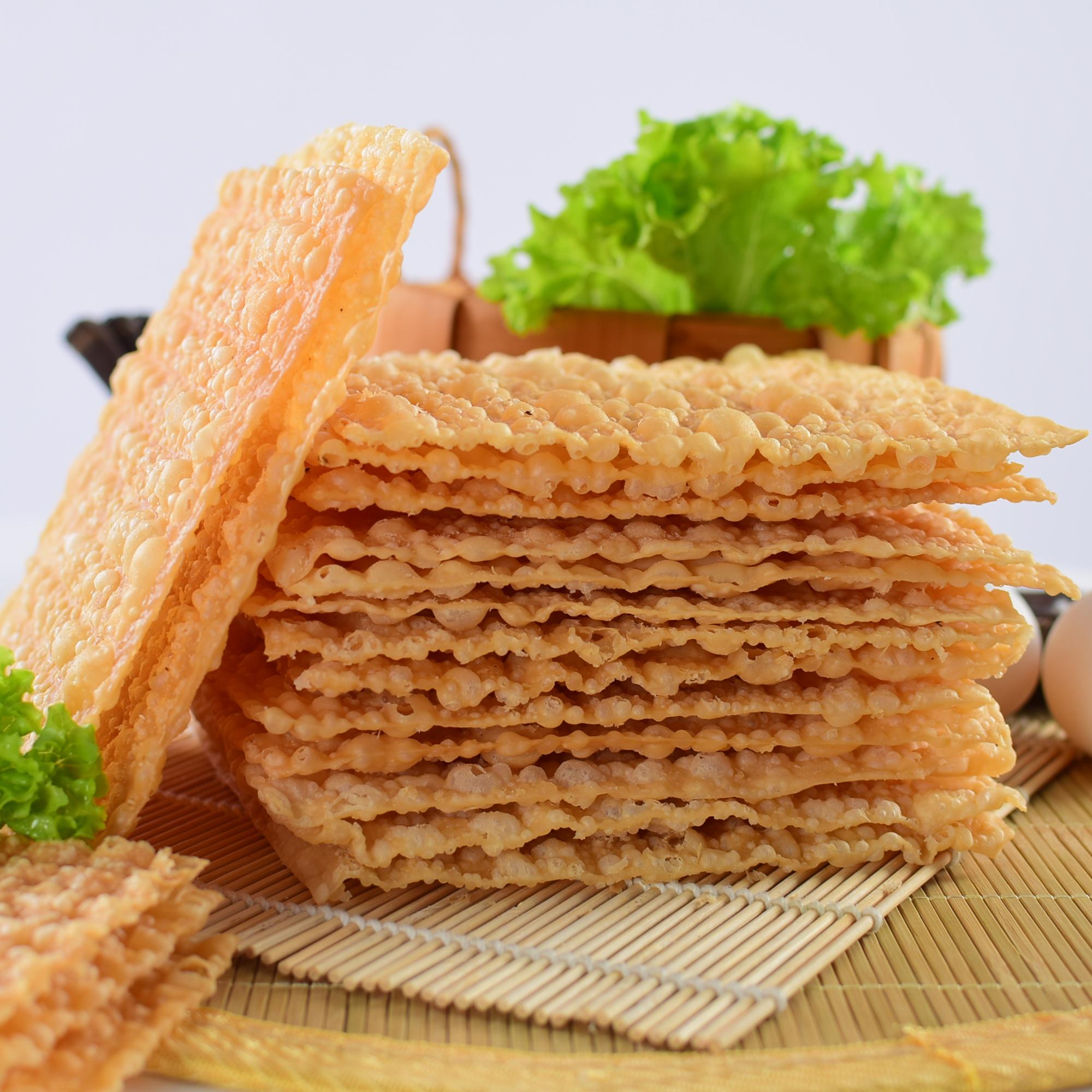 片 240 商用 脆片 脆饼 脆皮 山东杂粮煎饼薄脆片 天津煎饼果子薄脆