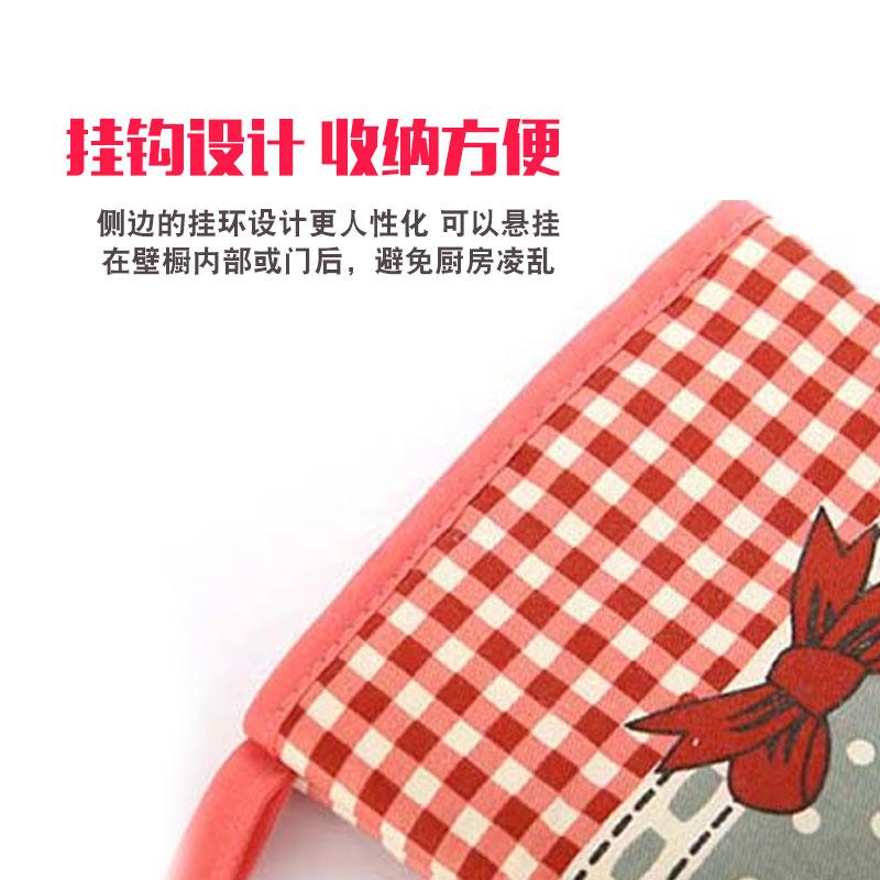 2只加厚防烫手套隔热烤箱专用耐烤炉微波炉烘焙防热厨房家用高温