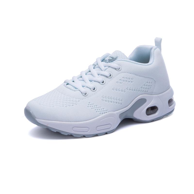 运动鞋女学生跑步鞋 宽头名牌运动鞋女 学生全网面运动鞋女夏休闲