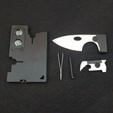The new ultra-thin card knife outdoor multifunctional portable card combination tool knife card