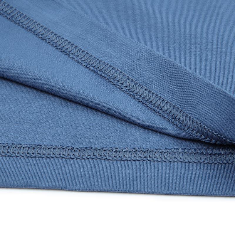 爱慕先生男士短袖T恤亲肤棉质舒享棉V领基础打底薄款半袖12U61