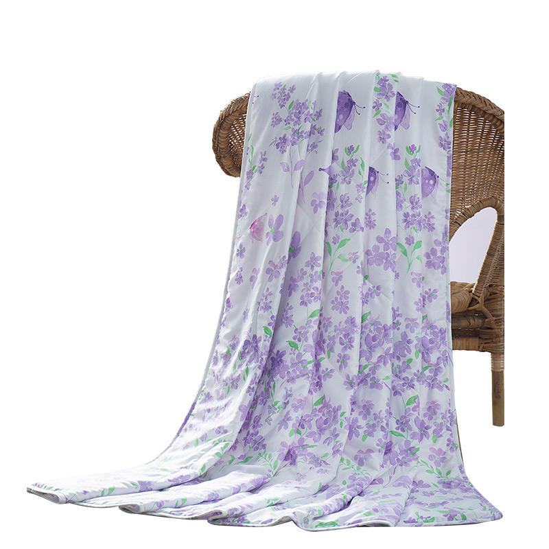 梦洁家纺天丝空调被夏凉被可机洗被子被芯 夏被初秋薄被